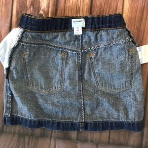 Old Navy Bottoms - EUC denim skirt, adjustable waist